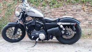 Sacoches Myleatherbikes Harley Sportster Forty Eight (54)